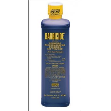 Barbicide Liquido Concentrado para Desinfección 480 Mililitros