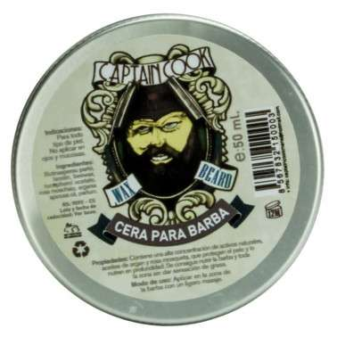 CERA DE BARBA CAPTAIN COOK 50 ml.