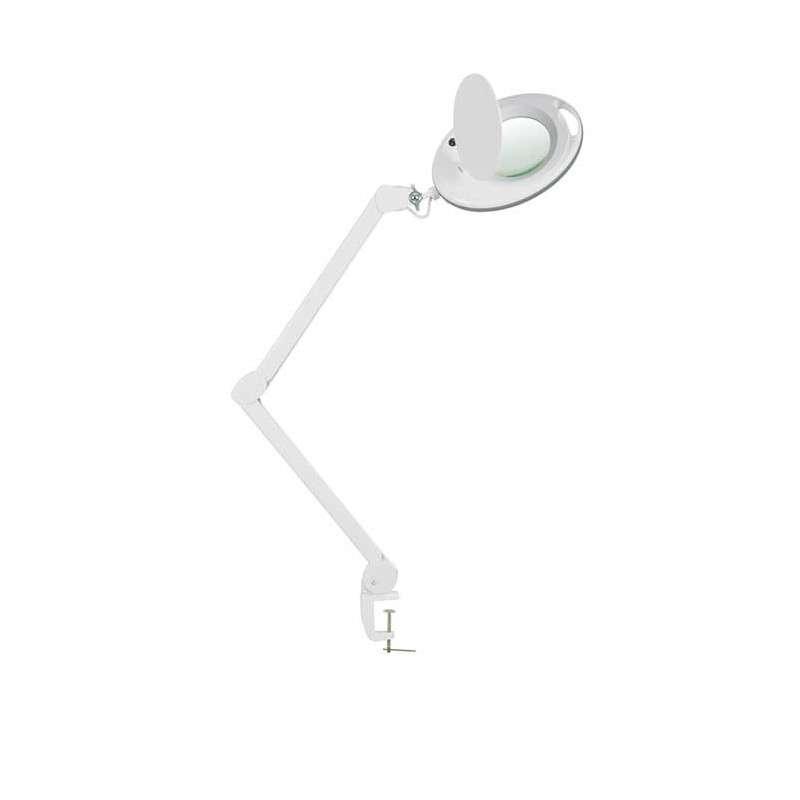 Lámpara LED con lupa de mesa 5 dioptrías Weelko WK-L003T
