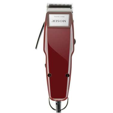 MAQUINA MOSER 1400 EDITION SILVER A RED