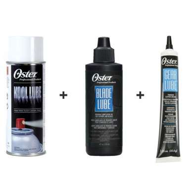PACK LUBRICANTE OSTER KOOL LUBE, ACEITE Y GRASA