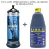 Pack jarra estereilzadora más botella barbicide de 1900 Ml.