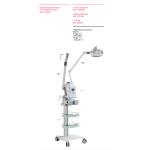 Vaporizador ozono digital facial Weelko Vap alta gama - F300E