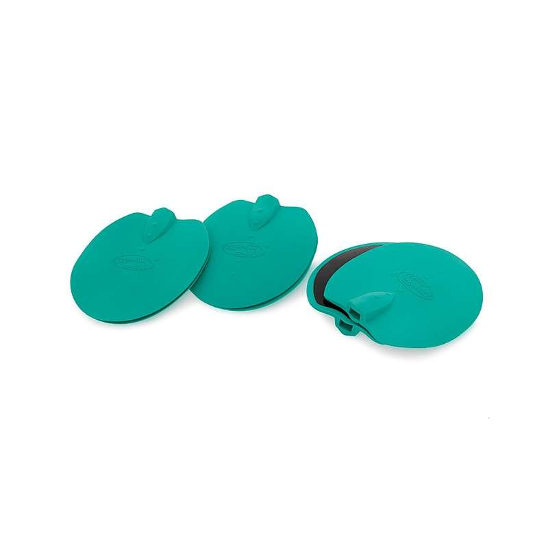 electrodos ovalados para el equipo de electroestimulacion weelko f905