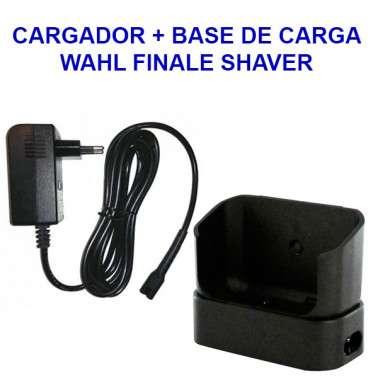 base de carga wahl finale shaver