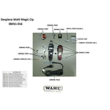 Recambios Repuestos Wahl Magic Clip Fade con cable