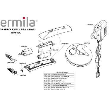 Despiece Ermila Bella Roja