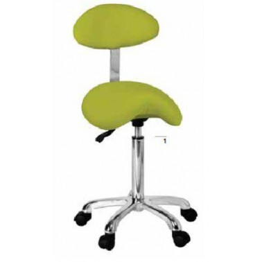 Taburete con respaldo Beauty stool with backrest - 1022AB2